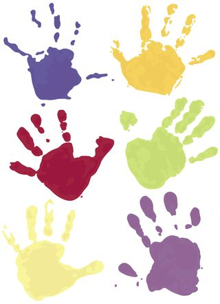 Nursery school hands